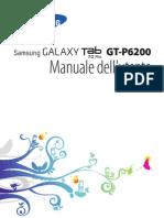 Samsung Tab 7 Plus (GT-P6200) - Manuale Utente