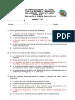 2012 - Verano Quimica 0B Ingenierias 1ra Evaluacion v0
