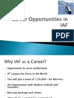 Career in Airforce 1