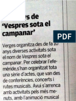 Carles Ribot en concert a Verges