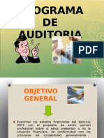 diapositivas auditoria