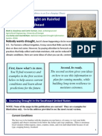 Anticipating Drought on Rainfed Farms in the Southeast
