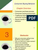 Ch03 - Consumer Buyer Behavior - Clow2ed