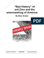 "The ""Bad History"" of Howard Zinn and the Brainwashing of America"