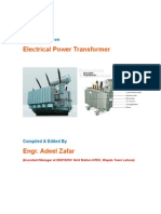 Electrical Power Transformer. Theory, Protection