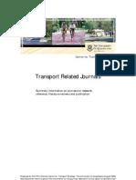 Transport Journals