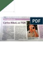 Tarragona acull la gira de Carles Ribot