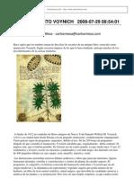 Carlosmesa.com - El Manuscrito Voynich