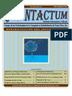 Boletín Contactum Edición Julio-Sept 2012