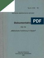 """Dokumentation über die """" Methodische Ausbildung im Gjogsul"""""""