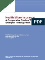 Health Microinsurance Case Study 13