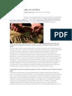 El comercio justo en el Perú