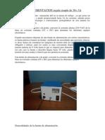 FUENTE de ALIMENTACION Regula de 30v Terminado Para Imprimir