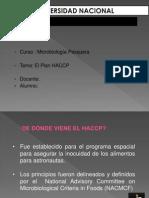 ELAVORACION DE UN HACCP