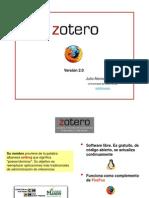 Zotero 2.0 por  Julio Alonso ArévaloUniversidad de Salamanca