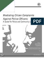 Mediating Citizen Complaints