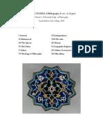 Islamic Studies a Bibliography