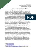 La Escasez de Los Recursos Humanos IT en La Argentina