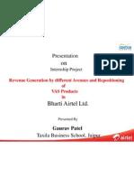 Gaurav Patel --(Internship Presentation)