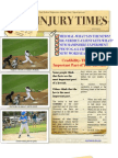 New Newsletter! NY Injury Times-JULY 2012