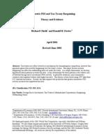 Asymmetric FDI and Tax Treaty Bargaining - Theory and Evidence