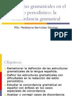 Clase 1 Estructuras gramaticales en el texto periodístico