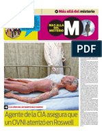 Tapa suplemento Misterio 22/07/2012