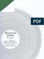 Clasicos de la Música Popular Chilena Vol.III (1960-1973)