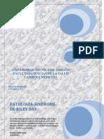 Informe de Ntics (Sindrome d Riley-day)