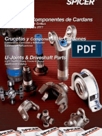 SPICER CRUZETAS E COMPONENTES DE CARDANS 2011 EM PDF