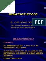 HEMATOPOYETICOS
