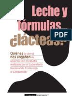 Leche y Formulas Lacteas