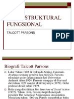 teori struktural fungsional