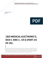 BIO-MEDICAL-ELECTRONIC'S, SEC# 1 AND 2 , CH-6 (PART-24-OF-25).