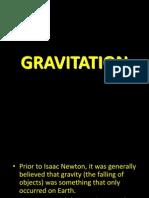 Topic 7 Gravitation