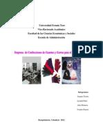 Plan de producción Empresa Textil