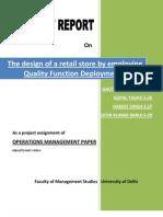 Retail Store Design Using QFD