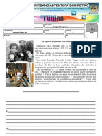 Produção de texto para 9º Simulado 1º Bim