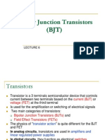 Element 2 - Bipolar Junction Transistor (BJT)