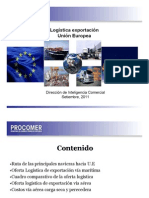 Logistica Exportacion Union Europea Setiembre2011