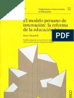 MODELO PERUANO DE INNOVACIÓN