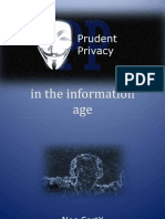 Prudent Privacy Preview
