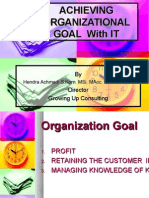 Achieving Organization Goal With IT