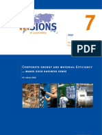 Corporate Energy and Material Efficiency Makes Good Business Sence (Www.wisions.net Download-Dateien PREP_brochure_No7)