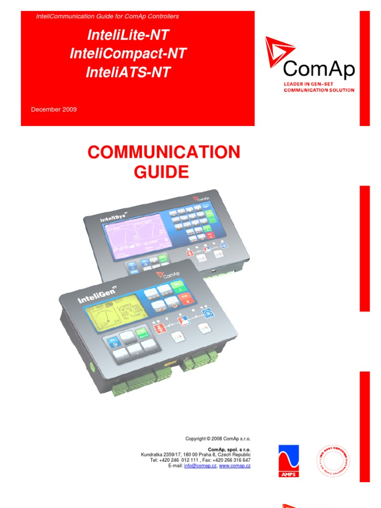 Il Nt Ia Ic Communication Guide 12 2009r1 Modem Ip Address Maxon Mcb 30 Wiring Diagram