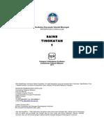 HSP Sains Tingkatan 1-Pemetaan Instrumen Bab 3