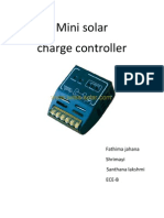 Mini Solar Charge Controller