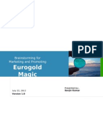 Proposal for Online Marketing Eurogold Magic