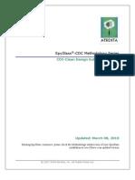 SpyGlass CDC Methodology
