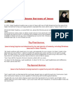 The Seven Sorrows of Jesus by Sister Faustina PDF